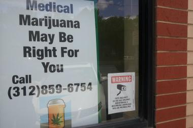 The medical marijuana clinic Good Intentions, 1723 N. Ashland Ave., is preparing for the rollout of the state law legalizing marijuana for medical use in January.