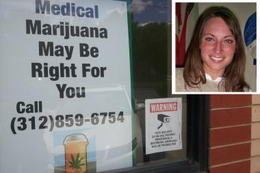 Tammy Jacobi is the president of Good Intentions LLC, located at 1723 N. Ashland Ave., which is reportedly Chicago's first medical marijuana clinic.