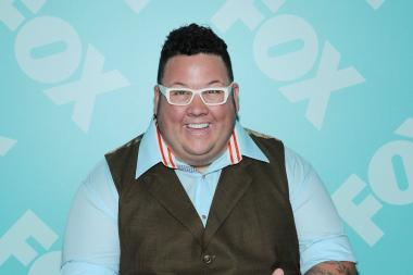 Graham Elliot attends a Fox 2103 party in New York City.