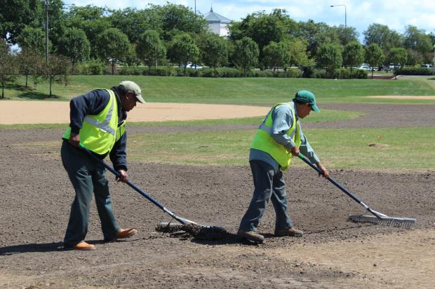 Grant Park saw less damage than in years past, and Bob O'Neill, head of the Grant Park Conservancy, estimates that repairs will cost $250,000 to $300,000.
