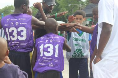 Despite a violent summer, a community basketball tournament is seeing results on the West Side.
