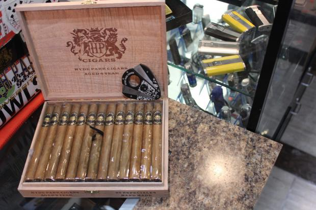 Hyde Park Cigars has opened a new lounge and humidor to offer its signature cigars.