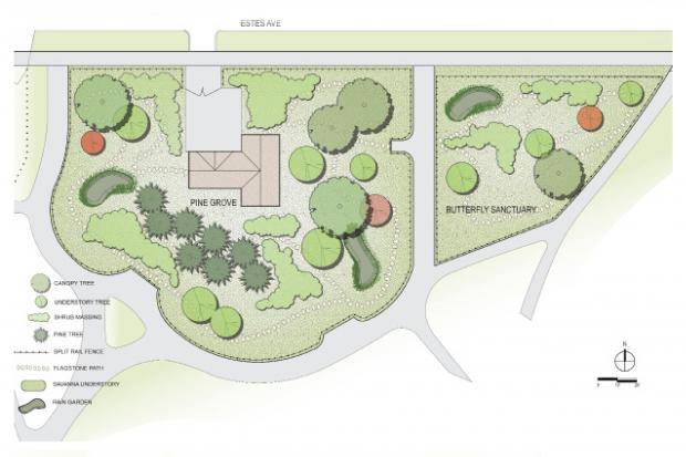 The Chicago Park District presented conceptual drawings of development plans for the Indian Boundary Park Zoo.