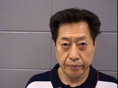 James Choi, 58, was charged with DUI after allegedly wrecking his Cadillac into a stack of tables in front of two cops at the Chicago Korean Festival.