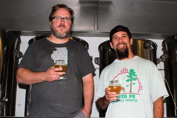 The guys behind Lake Effect Brewing met at Lincoln Park's Ravens bar about six years ago and are now a little less than a year into their brewery business.