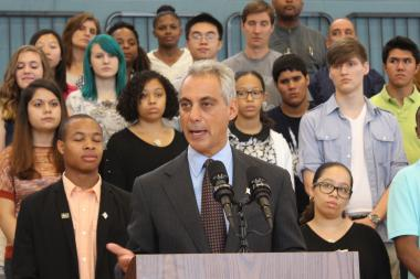 Mayor Rahm Emanuel is targeting the marketing of tobacco products to young smokers.