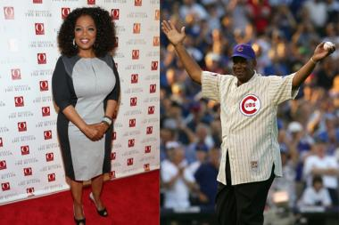 Oprah Winfrey and Ernie Banks will receive the Medal of Freedom from President Obama later this year.