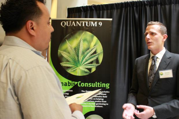 Industry professionals gave advice to entrepreneurs hoping to start medical marijuana businesses at the Midwest CannaBusiness Symposium Saturday.