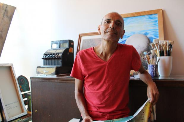 Former Oxala Gallery owner Omar Valencia was diagnosed with cancer in July. The Pilsen art community has since rallied around him.
