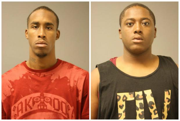 Three men face felony charges after being caught with guns while filming a music video.