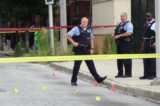 A man died after being shot in South Shore Tuesday.
