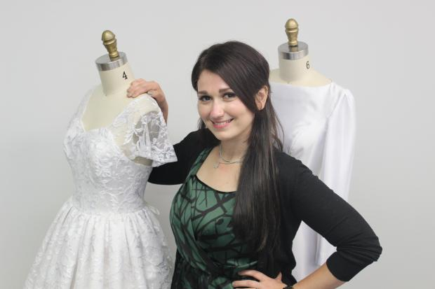 Anna Steinberg, 29, started a custom-wedding gown site for brides who need more modest gowns for religious ceremonies.