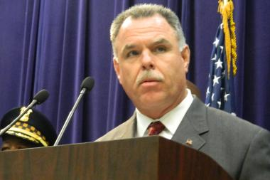 McCarthy anounces the expansion of an initiative that targets violence stemming from the narcotics trade on the West Side.