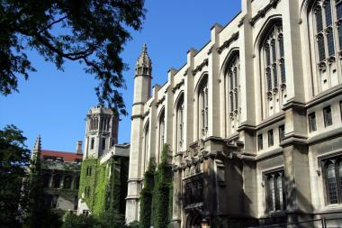 The University of Chicago is ranked ninth best in the world.