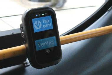 CTA passengers will swipe their fare cards to enter a prepaid waiting area and board buses freely when they arrive during test runs of prepaid bus-boarding.