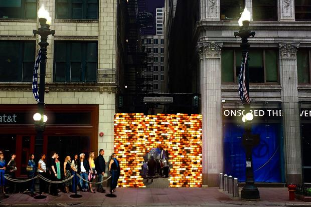 "The Chicago Loop Alliance will try its hand at ""placemaking"" Couch Place Alley off State Street Thursday night."