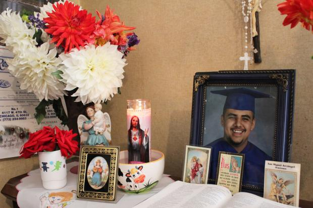 Adrian Sianez, 24, was shot to death during a drive-by in Gage Park Sunday morning.