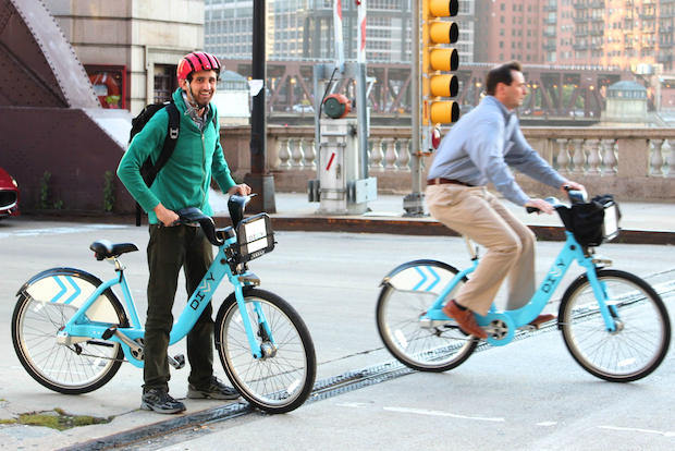 Alex Soble, 24, created an app for Chicago Divvy bike share program called DivvyBrags, which tracked mileage, number of trips taken and other stats. The DivvyBrags app launched Aug. 23 and was shut down Sept. 21 by Alta Bike Share, which blocked Soble's access to its user's data.