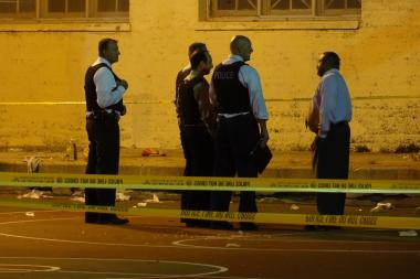 The latest shooting happened around 3 a.m. Sunday in the 2400 block of West 45th Street, where neighbors reported hearing more than 15 gunshots.