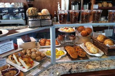 Baker & Nosh, 1303 W. Wilson Ave., offers seasonal baked goods and lunch options.