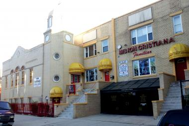 A 16,000-square-foot church at the corner of Schiller and Evergreen street and Wicker Park Avenue is for sale. Price tag? $2.2 million.