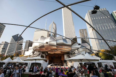The seventh annual Chicago Gourmet takes place Sept. 27-28 in Millennium Park.