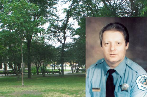 A memorial to Officer Richard Clark will be dedicated Sept. 28 in the park that bears his name.
