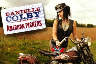 "Danielle Colby stars on History Channel's ""American Pickers."""