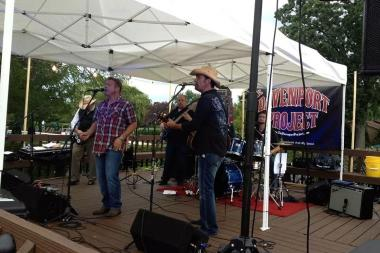 The Davenport Project is scheduled to perform at the Edgebrook Oktoberfest from 8-10 p.m. Friday.