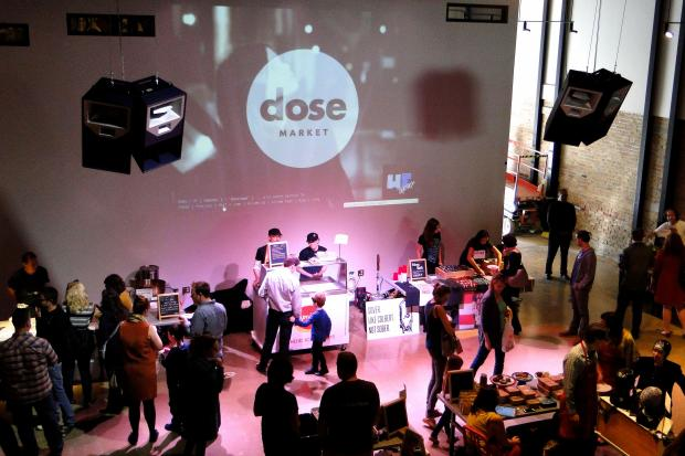Dose Market at Chop Shop's 1st Ward events space.