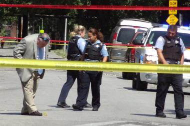 Police are investigating the fatal shooting of Adrian Sianez in Gage Park. File photo.