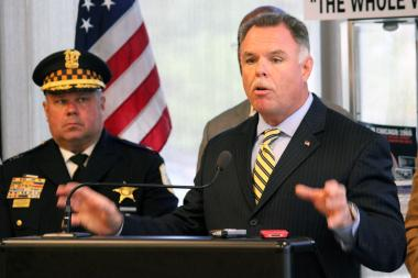 Chicago Police Supt. Garry McCarthy said Tuesday there are ways the Police Department can cut costs and still be effective in fighting crime.