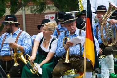Lincoln Square's annual Von Steuben Day Parade kicks off at 2 p.m. Saturday.