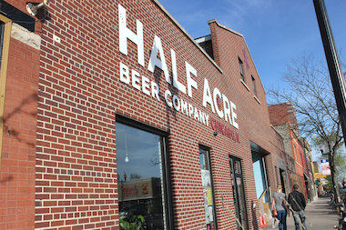 Half Acre Beer Co. has nixed plans to open a restaurant next to its North Center brewery and taproom, owner Gabriel Magliaro said.