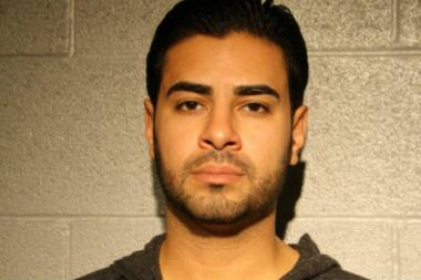 Jawad Jaber, 31, allegedly punched a man in the bathroom of American Junkie, breaking his jaw and causing a concussion.