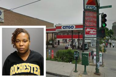 Khalila Southall, 30, is accused of killing a woman she'd argued with online in a West Side gas station.