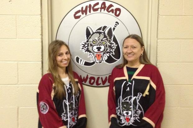 The Chicago Wolves are celebrating their 20th season this year, and many of their longtime season ticket holders are Chicago residents.