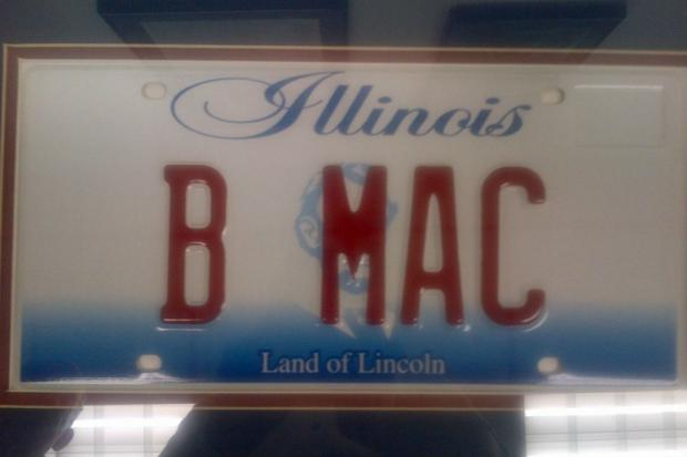 A special Illinois license plate has been designed to celebrate the 56th birthday of entertainer and Chicago native Bernie Mac, who died in 2008.