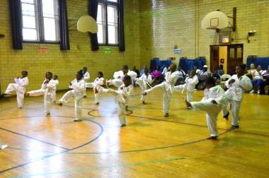 Organizers of a taekwondo program at Manierre Elementary hope to raise $24,000 to continue the program.