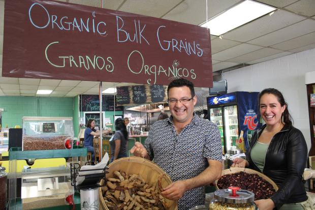 The Pilsen grocery MeztiSoy opened in August with many organic and locally-made options.
