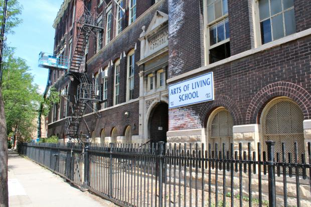 The former Mulligan Elementary School, which closed in 1991, was recently purchased by a developer and is being transformed into an apartment complex.