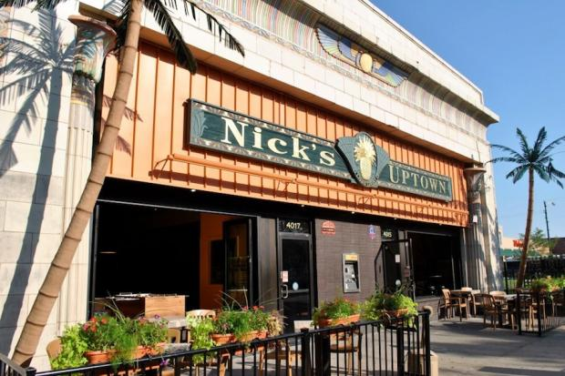 Nick's Uptown closed in September.