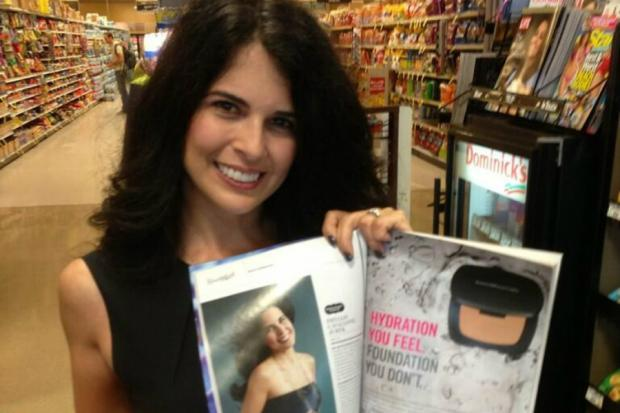 """More"" magazine named St. Therese's Phyllis Cavallone a winner in a nationwide ""beauty search."""