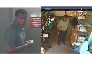 This man is suspected of stealing office supplies in the Loop, police said.