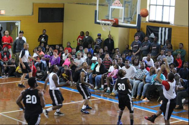 "The second annual Peace Basketball tournament was held Saturday at St. Sabina's in Auburn Gresham. The tournament began in 2012 as a way to bring gang members in the area together to prevent violence. Players in Saturday's tournament said the event made them feel like they were ""in the NBA for a minute."""