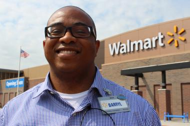 Pullman Wal-Mart Manager Darryl Bowles hopes CTA buses start rolling to the new Superstore, which is set to open on Wednesday.