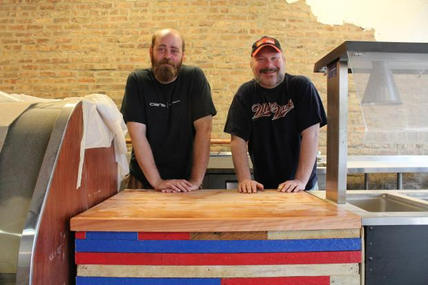 "Co-owners Benji Tomlinson and Ray Parker hope to open gourmet comfort food lunch spot ""Real Comfort"" by mid-September."