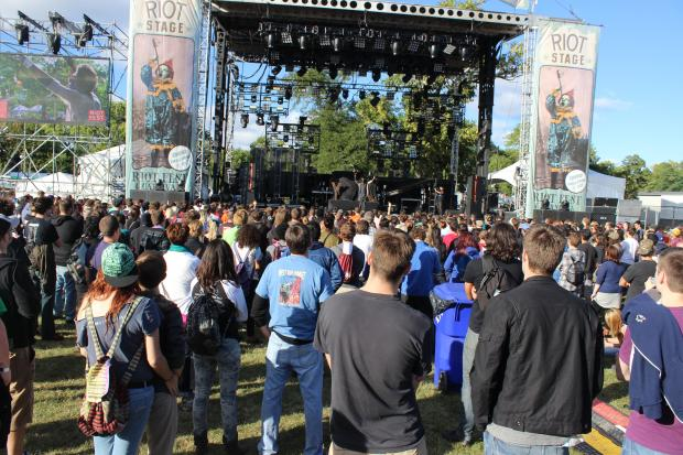 Day 1 of the 3-day festival kicked off Friday afternoon.