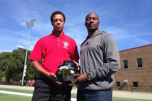 Hales Franciscan and Leo high schools' football teams will play for the Soul Bowl helmet trophy on Saturday at Hales.
