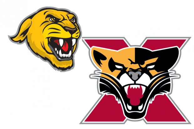 Saint Xavier University in Mt. Greenwood introduced a new Cougars logo for this school year.